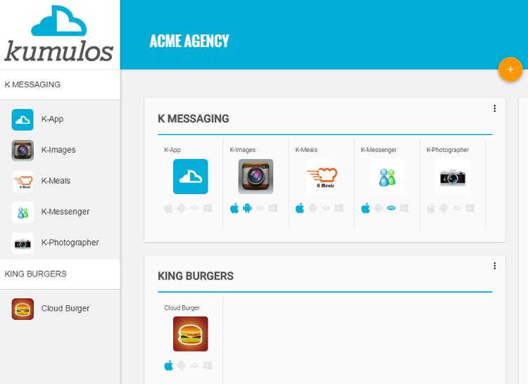 Kumulos Multi-Tenant App Console