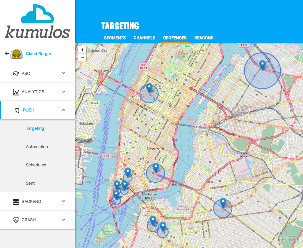 Geofencing and Beacons - Kumulos