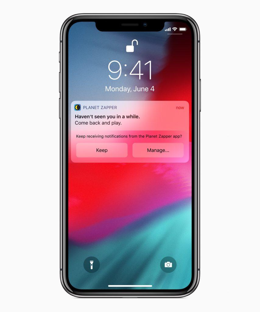 Push Notifications in iOS 12 - Siri
