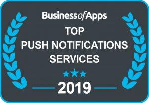Award Winning Push Notifications Feature