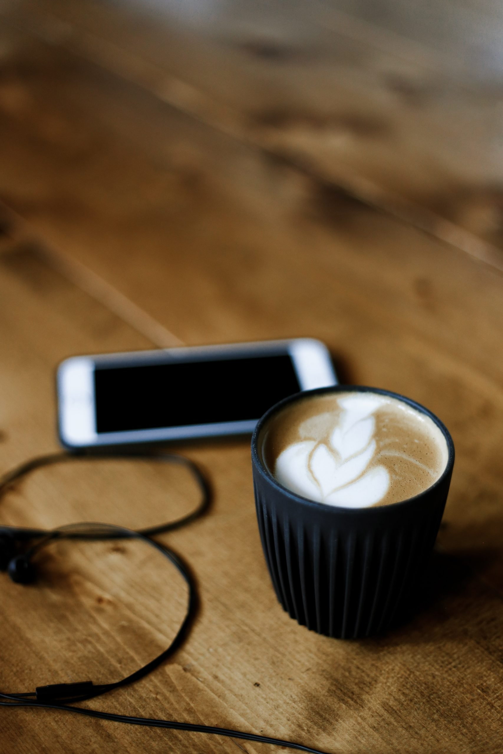 coffee and mobile