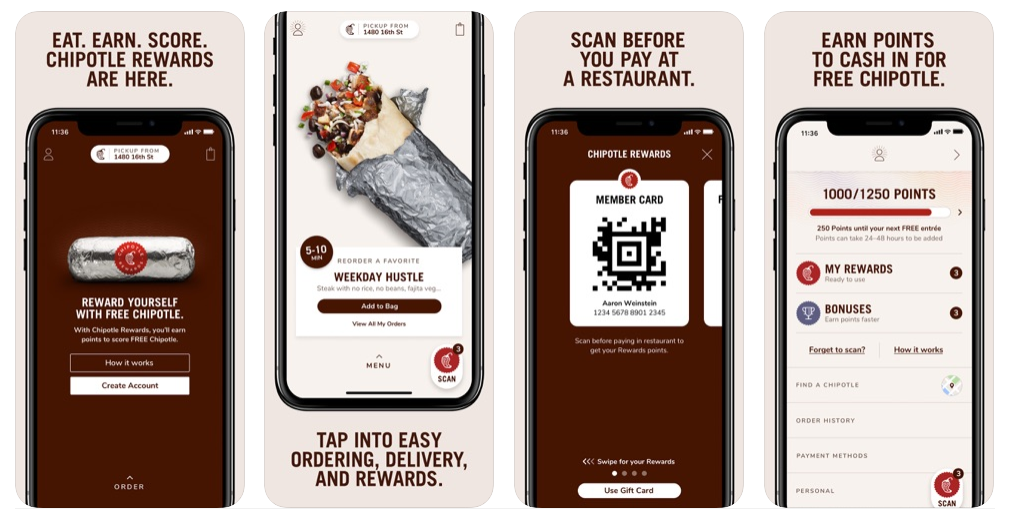 chipotle loyalty app