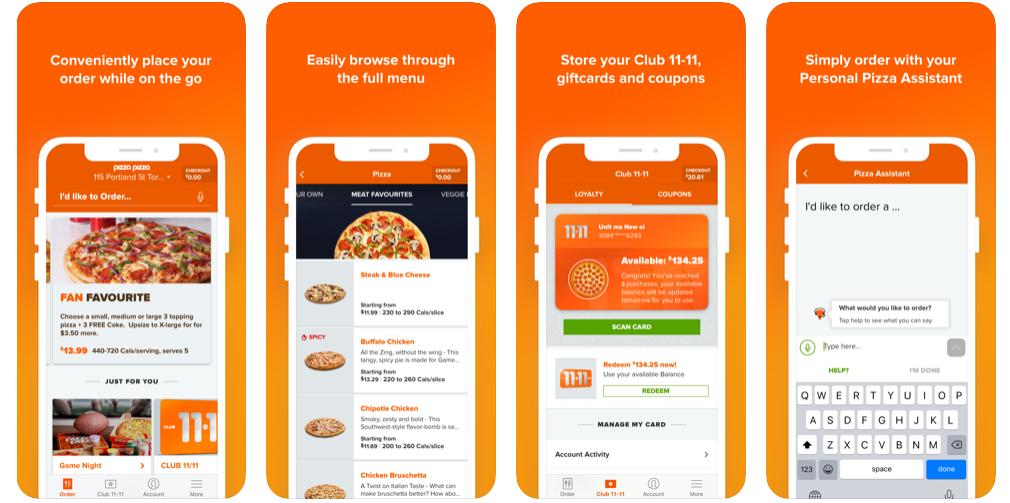 pizza pizza loyalty app