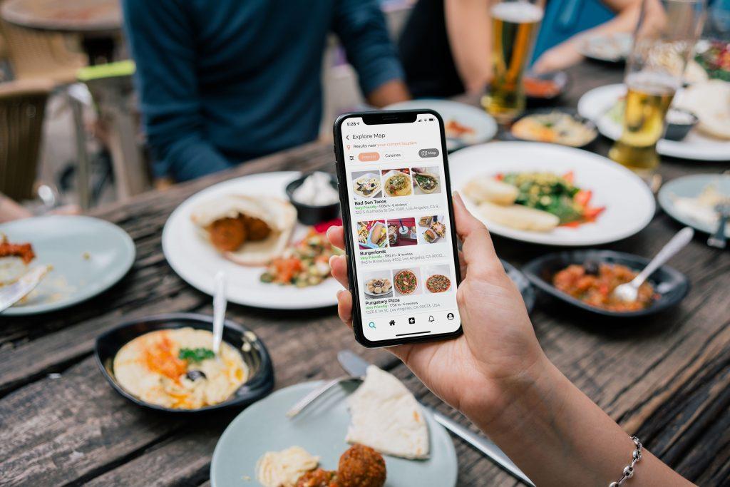 app use in restaurant
