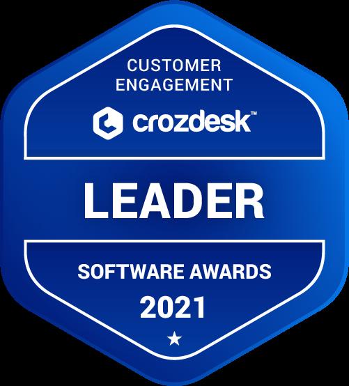 crozdesk customer engagement badge