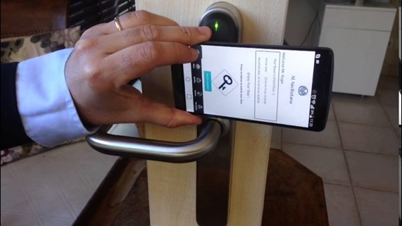 keyless mobile check-in