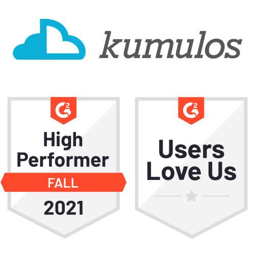Kumulos G2 awards